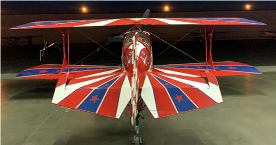 Pitts S-2C for California sky thrills, aerobatics, upset training, bush pilot flying and special event flyovers