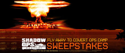 Atari Red Mercury: Shadow Ops Fly Away to Covert Ops Camp Sweepstakes