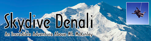Skydive Denali - an Incredible Adventure Above Mt. McKinley in Alaska