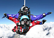 Mt Everest Tandem Halo Jump. Highest drop zone in the world. Join an elite skydive team