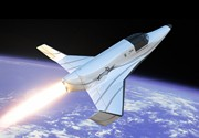 RocketShip Adventure civilian suborbital space flight.  Reserve your space on the XCOR Lynx now.
