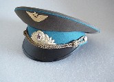 Soviet Airforce Pilot and Cosmonaut Visor Hat