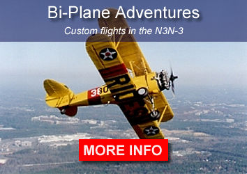 Custom flights in the N3N-3 Bi-plane