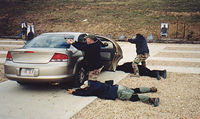 Car Drill at Bodyguards Training Adventure