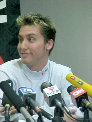 Lance Bass Press Conference
