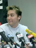 Lance Bass Press Conference, May 31, 2002