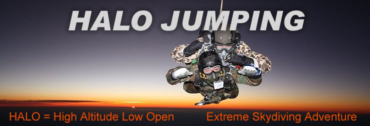 HALO Jumping: High Altitude Low Open Skydiving Adventure