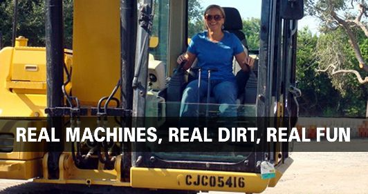 Real Machines, Real Dirt, Real Fun