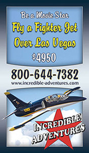 Fly a Fighter Jet Over Las Vegas with Incredible Adventures