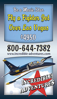 Fly a Fighter Jet over Las Vega