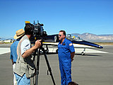 "Pilot David Riggs on TV show ""Wings"""