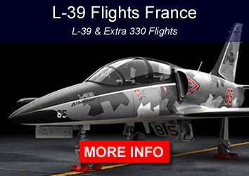 Fly L-39 fighter jet in France