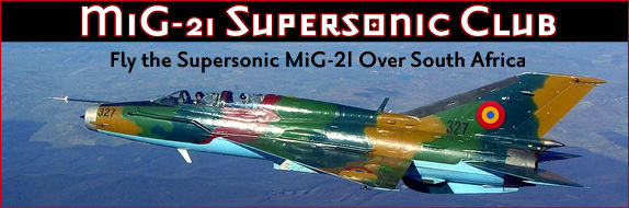 Fly a fighter jet over South Africa: MiG021 Supersonic Club
