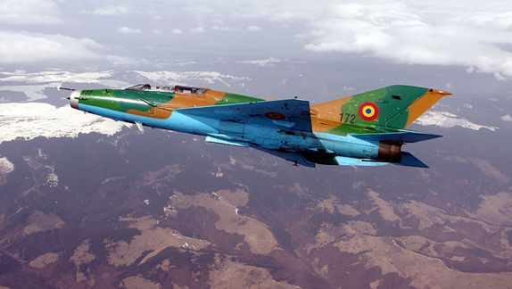 MiG-21 flights in South Africa
