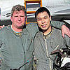 Karl is from the Philippines and flew a MiG-29 to the edge of space with Sokol Test Pilot Andrey Pechionkin.