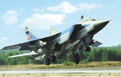 Fly the MiG-31 Foxhound to near space