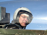 This could be you in the cockpit of the L-39 Albatros