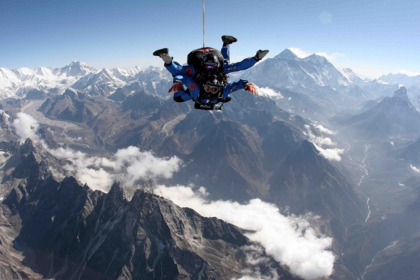 Skydive  Everest with Explore Himalaya and Incredible Adventures