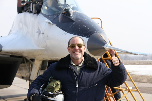 Fly a MiG over Russia this March - it will make you Merry