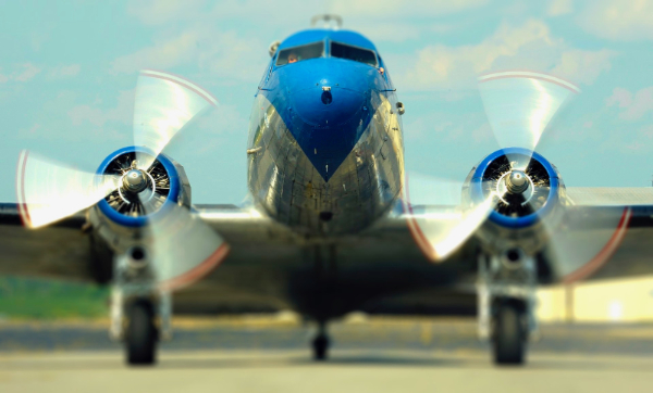Fly to Oshkosh air show in a DC-3