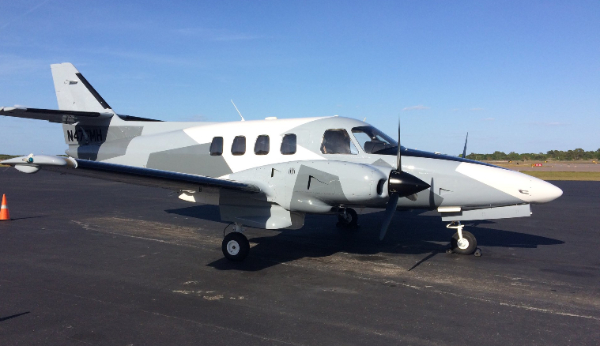 Zero Gravity plane Rockwell Commander gets refurbished