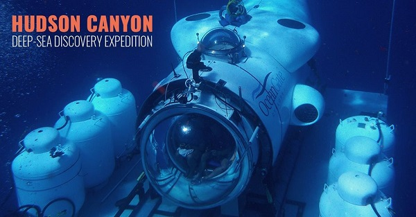 Deep Sea Discovery Expedition to explore the Hudson Canyon in Submersible