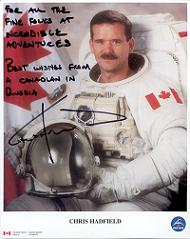 Canadian Astronaut Chris Hadfield in Russia