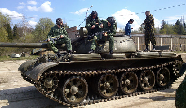 Russian Tank Adventures in Moscow with Incredible 