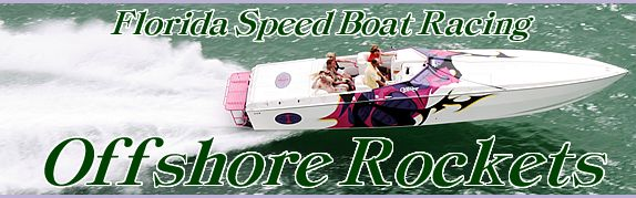 Florida speed boat racing adventure