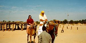 Explore the Sahara by dune cart, ultralight, hovercraft, hot air balloon and CAMEL!