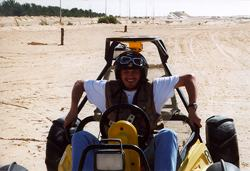 Dune carts over the desert sand. Plus ultralights, hot air balloons and hovercraft!