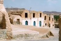 Desert dwellings in Tunisia