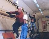 Cosmonaut Training in the Ilyushin-76