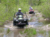 Tactical ATV All Terrain Vehicle Driving Adventure