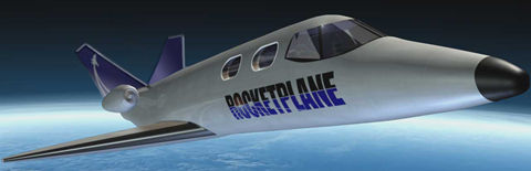 Reserve Your Seat on the Rocketplane Now