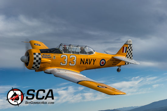 Fly the T6 Texan