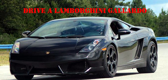 Drive a Lamborghini Gallardo at Spy Camp