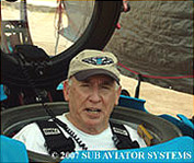 Captain Alfred S. McLaren, USN, PhD., Director of Sub Aviator Systems