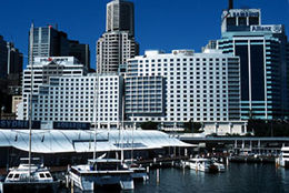 Darling Harbor, Sydney Australia, Four Points by Sheraton Hotel