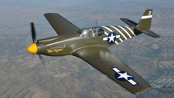 Fly the P-51 Mustang