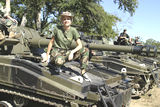 Tank driving fantasy camp in Sherman TX