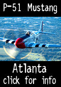 Fly the P-51 Mustant over Atlanta